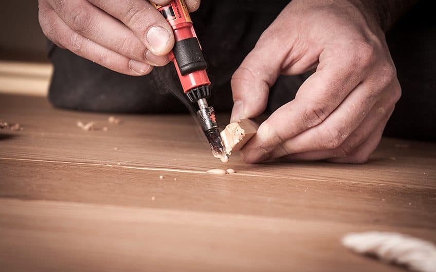 wood deck repair filler
