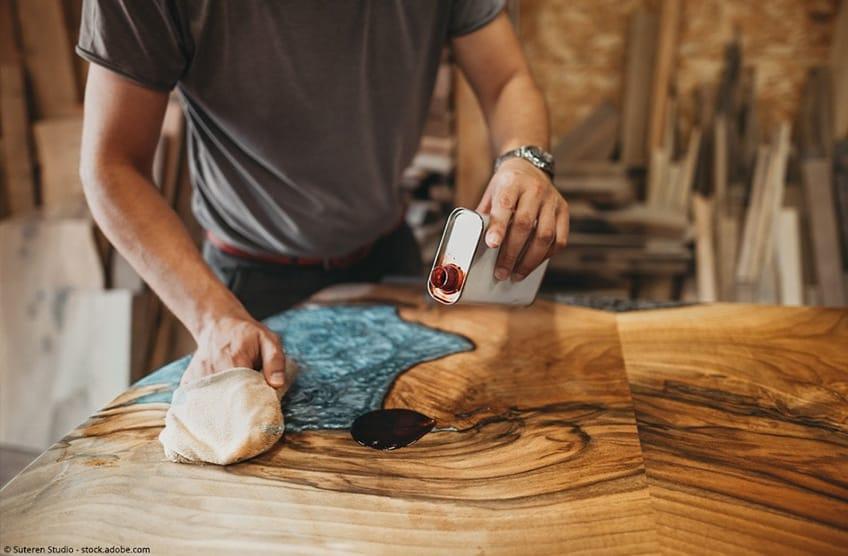 wood epoxy resin