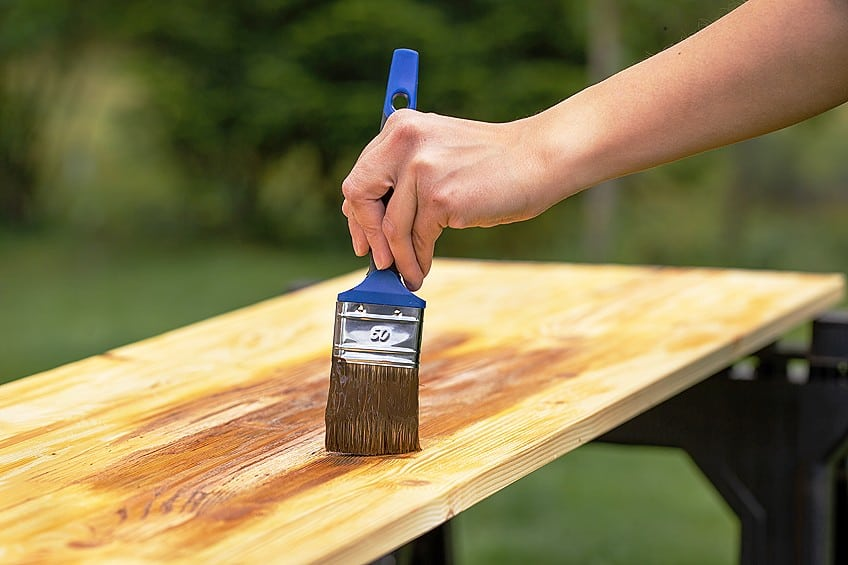 Outdoor Wood Stain