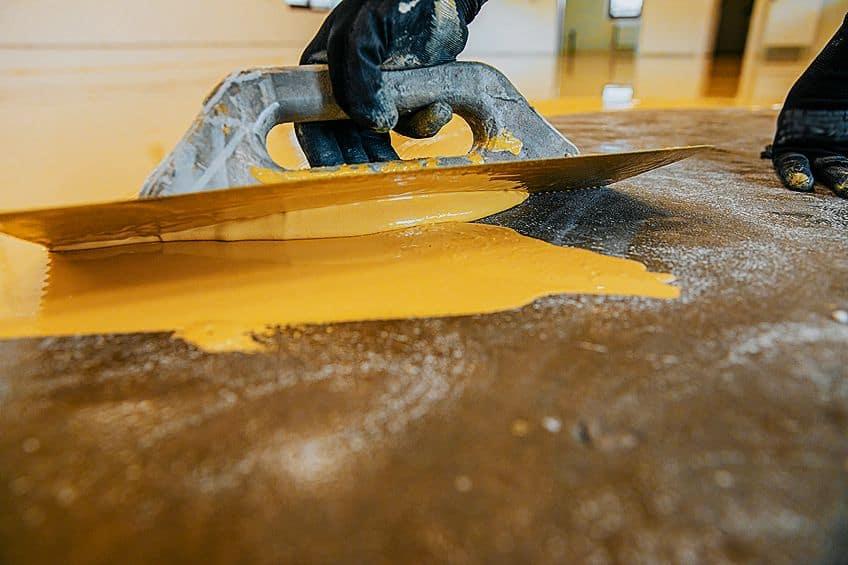 Applying Epoxy Floor Paint for Wood