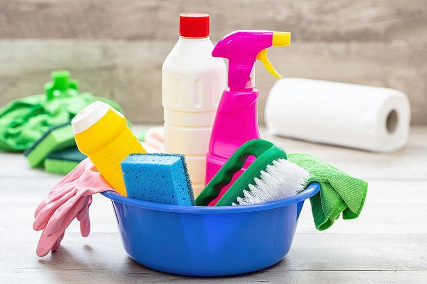 Cleaning Supplies for Removing Wood Glue