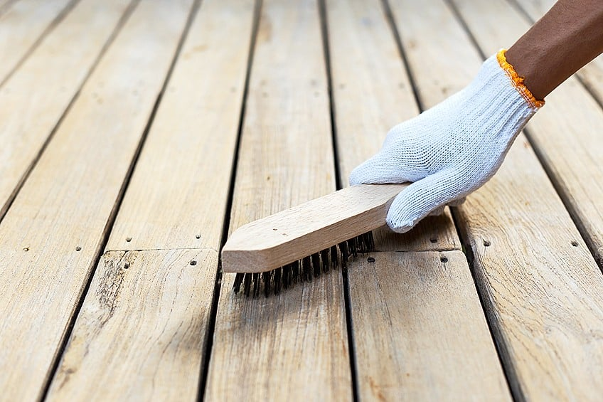 Remove Paint From Wooden Floor