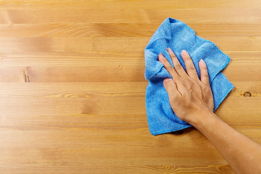 Remove Wood Glue With Cloth