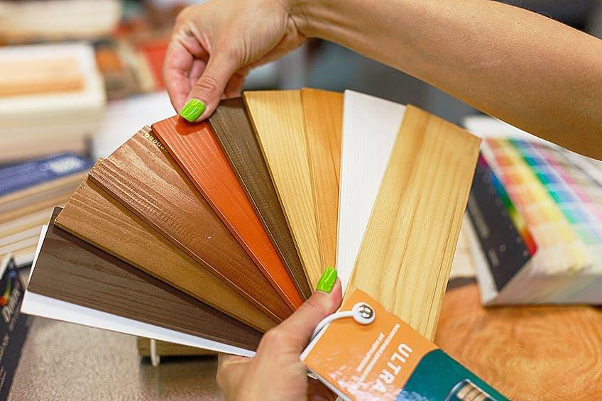 Wood Paint Colors