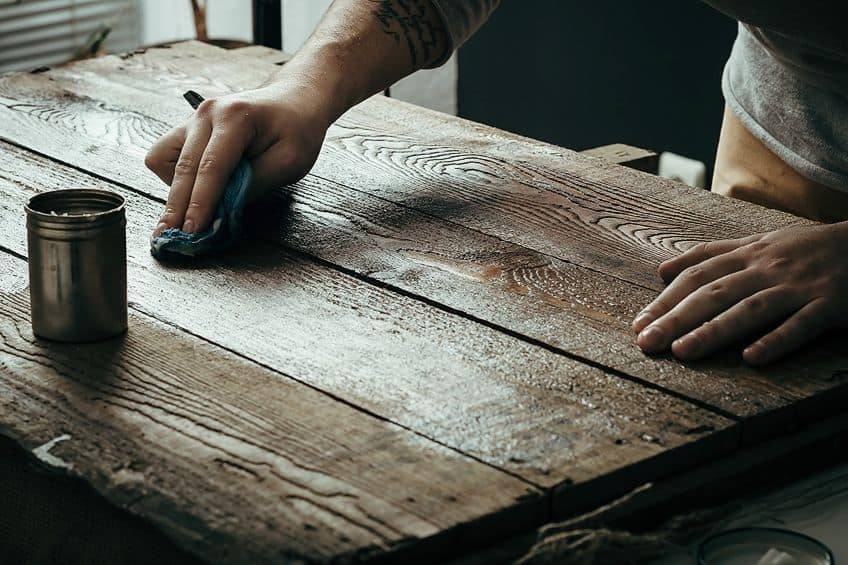Remove Mold from Wood