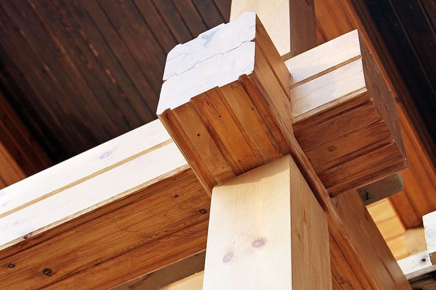Laminated Timber Constructed Wood