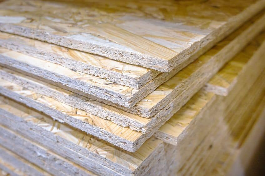 OSB Manufactured Wood