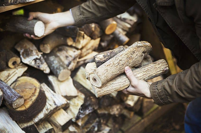Storing a Cord of Firewood