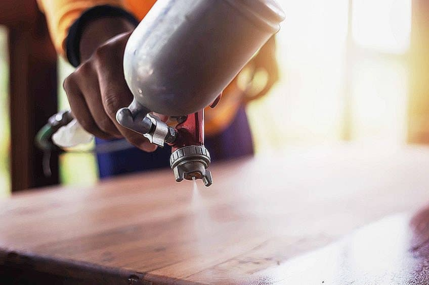 Using Best HVLP Paint Sprayer for Furniture