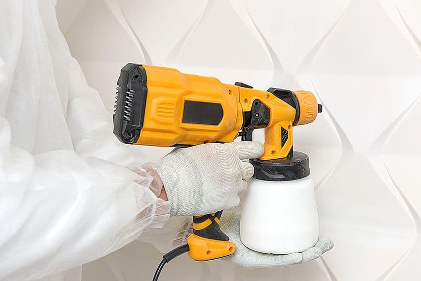 Using Paint Sprayer for Furniture