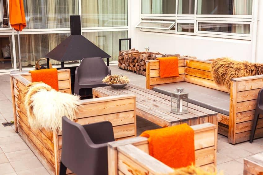 Outdoor Rubberwood Furniture