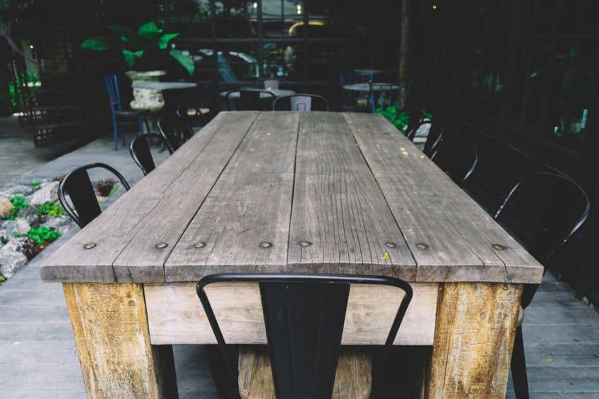 Rubberwood Table