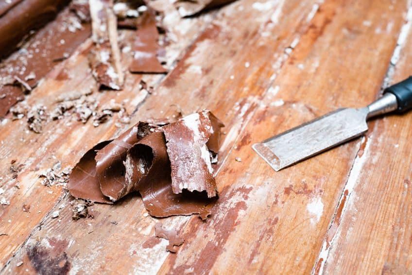 Stripping Woodwork Heat