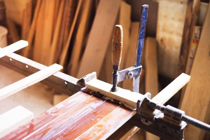 Applying Hardwood Veneer