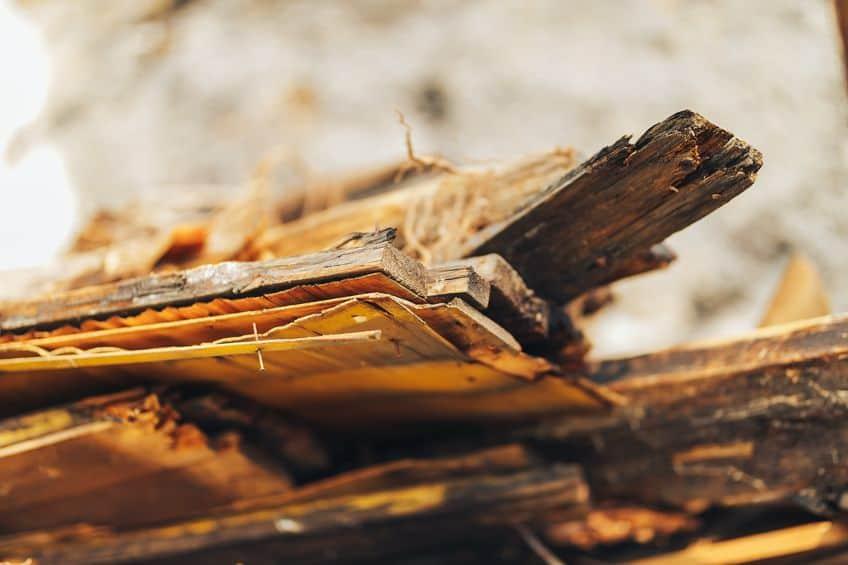 Bad Wood Pallets Floor