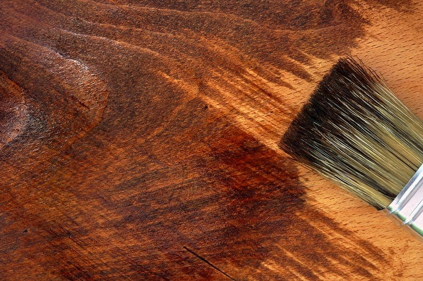 Instructions for Staining Redwood