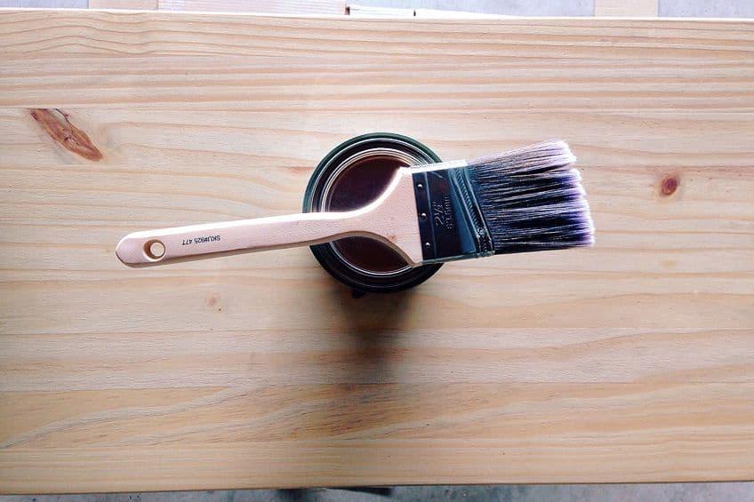 Painting Treated Wood White