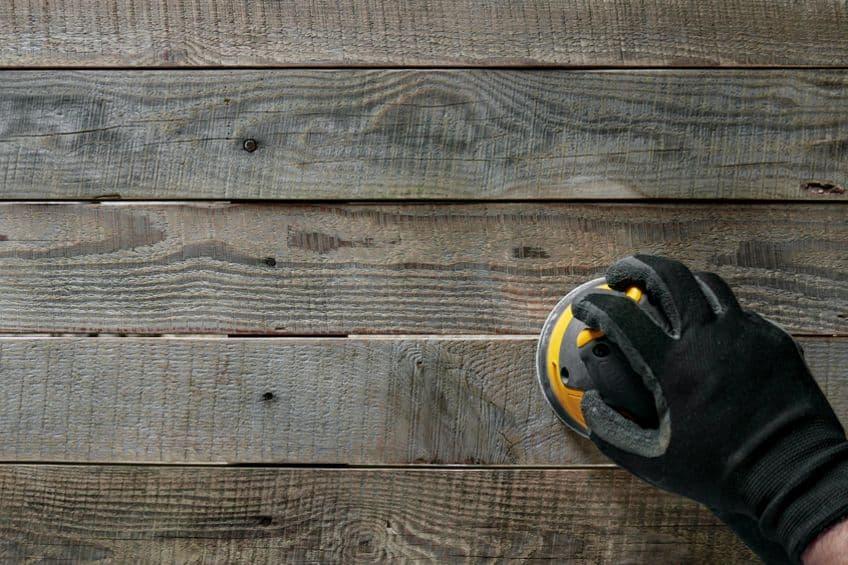 Preparing Pallet Flooring