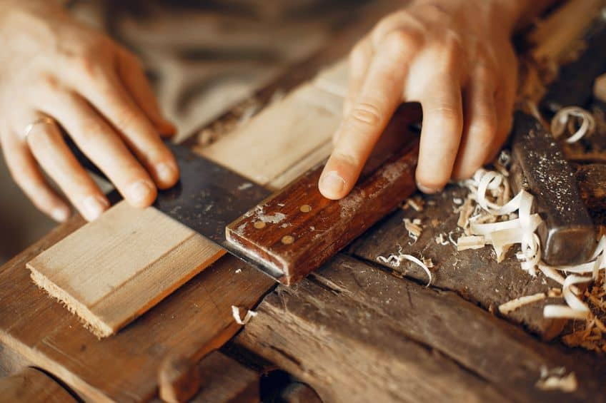 Real Wood Veneer Table