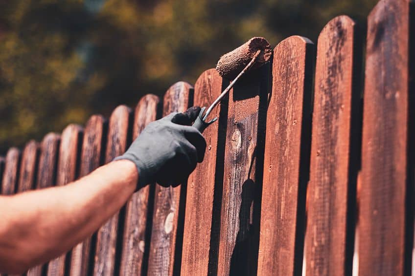 Stain for Wood Fences