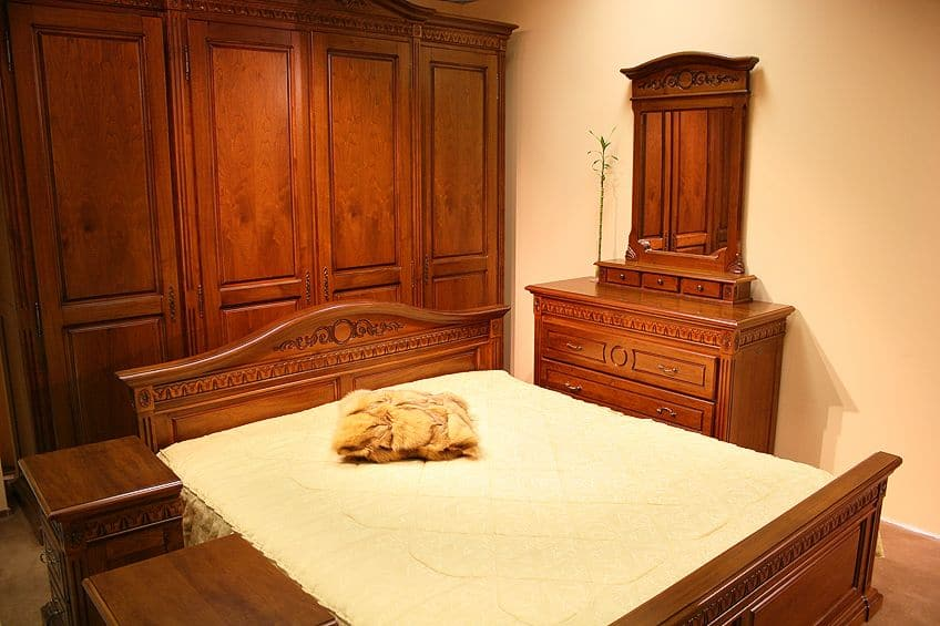 Stained Redwood Furniture