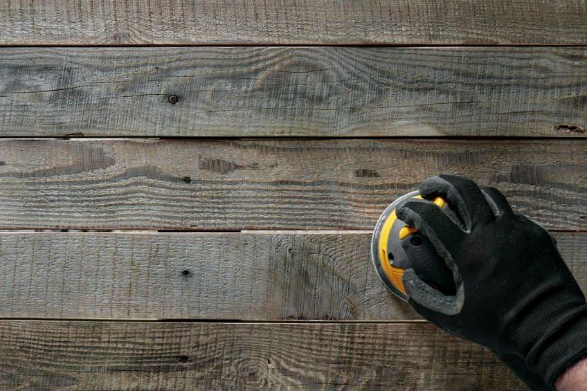 Belt Sander for Deck Sanding